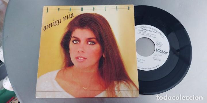 JEANETTE-SINGLE AMIGA MIA (Música - Discos - Singles Vinilo - Pop - Rock - Internacional de los 70)