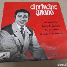 Discos de vinilo: EL PRINCIPE GITANO (EP) LOS MIMBRALES AÑO – 1962. Lote 289682843