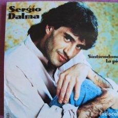 Dischi in vinile: LP - SERGIO DALMA - SINTIENDONOS LA PIEL (SPAIN, DISCOS HORUS 1991) CONTIENE INSERT. Lote 289684033