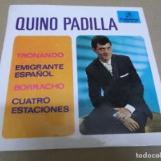 Discos de vinilo: QUINO PADILLA (EP) TRONANDO AÑO – 1967. Lote 289684623