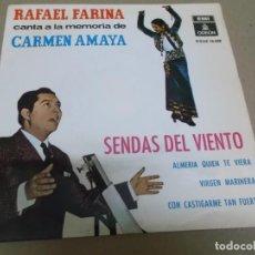Discos de vinilo: RAFAEL FARINA (EP) SENDAS DEL VIENTO AÑO – 1964. Lote 289685208