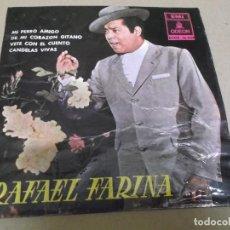 Discos de vinilo: RAFAEL FARINA (EP) MI PERRO AMIGO AÑO – 1961. Lote 289685553