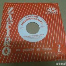Discos de vinilo: RAFAEL VARGAS Y SUS RUMBAS FLAMENCAS (EP) NADIE ME AMA AÑO – 1964 - PROMOCIONAL. Lote 289686073