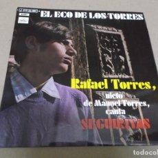 Discos de vinilo: RAFAEL TORRES (EP) A LOS SANTOS DEL CIELO AÑO – 1971. Lote 289686253