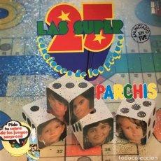 Discos de vinilo: PARCHIS - LAS SUPER 25 CANCIONES DE LOS PEQUES - LP ALBUM DOBLE. Lote 289686288