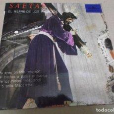 Discos de vinilo: EL RERRE DE LOS PALACIOS (EP) SAETAS AÑO – 1965. Lote 289686363