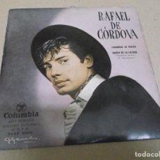 Discos de vinilo: RAFAEL DE CORDOVA (EP) FANDANGOS DE HUELVA AÑO – 1958. Lote 289686613