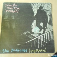 Discos de vinilo: SIOUXSIE AND THE BANSHEES, SG, THE STAIRCASE (MYSTERY) + 1, AÑO 1979. Lote 289693398