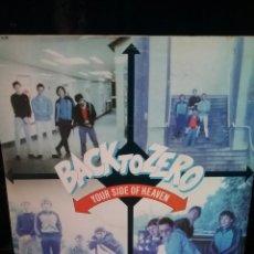 Discos de vinilo: BACK TO ZERO 1978 FICTION RECORDS SINGLE. Lote 289693823