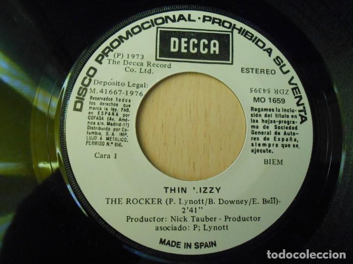 Discos de vinilo: THIN LIZZY, SG, THE ROCKER + 1, AÑO 1976 PROMO - Foto 3 - 289694073