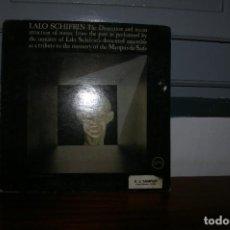 Discos de vinilo: LALO SCHIFRIN LP VERVE USA 1966 PROMO WHITE LABEL NOT FOR SALE TRIBUTE MEMORY MARQUIS SADE.... Lote 289694598