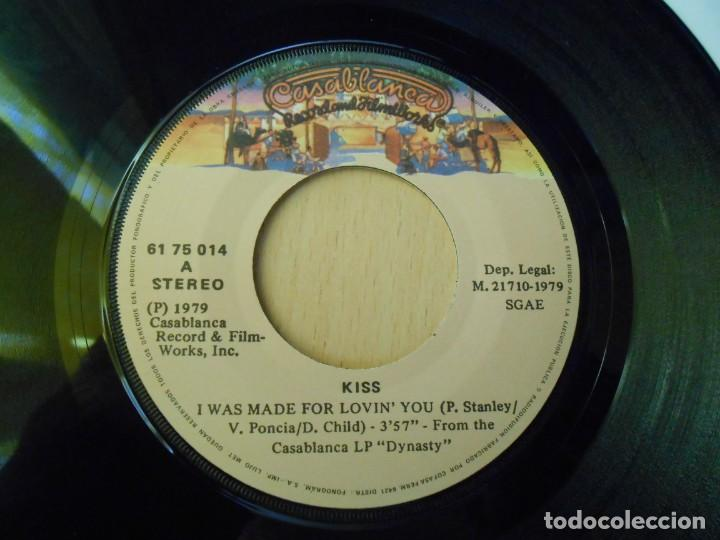 Discos de vinilo: KISS, SG, I WAS MADE FOR LOVIN´ YOU + 1, AÑO 1979 - Foto 3 - 289695433