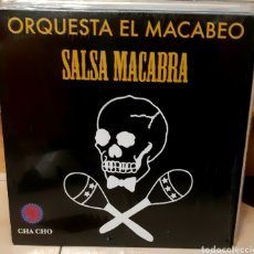Disques de vinyle: MUSICA GOYO - LP - ORQUESTA EL MACABEO - SALSA MACABRA - SINGLE DE REGALO - RARÍSIMO - AA99. Lote 289698688