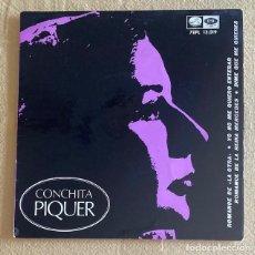 Discos de vinilo: CONCHA PIQUER - ROMANCE DE LA OTRA. Lote 289698848