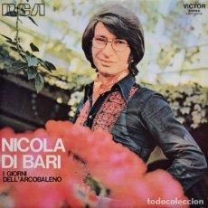 Discos de vinilo: NICOLA DI BARI – I GIORNI DELL'ARCOBALENO - LP RCA VICTOR SPAIN 1972. Lote 289703838
