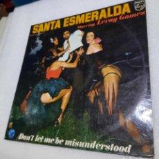 Discos de vinilo: SANTA ESMERALDA STARRING LEROY GÓMEZ - DON'T LET ME BE MISUNDERSTOOD. Lote 289705408