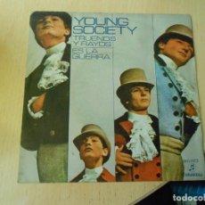 Discos de vinilo: YOUNG SOCIETY, SG, TRUENOS Y RAYOS + 1, AÑO 1971. Lote 289706583