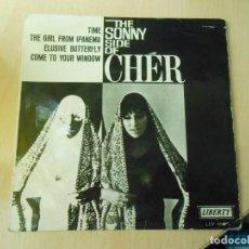 Discos de vinilo: SONNY & CHER, THE, EP, TIME + 3, AÑO 1966. Lote 289707328