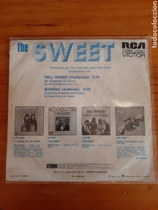 Discos de vinilo: THE SWEET. HELL RAISER. BURNING.RCA. 1973. ESP - Foto 2 - 289710328