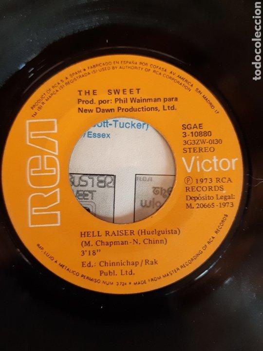 Discos de vinilo: THE SWEET. HELL RAISER. BURNING.RCA. 1973. ESP - Foto 3 - 289710328