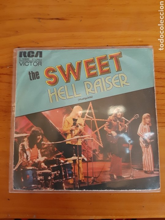 THE SWEET. HELL RAISER. BURNING.RCA. 1973. ESP (Música - Discos - Singles Vinilo - Pop - Rock - Internacional de los 70)