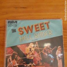 Discos de vinilo: THE SWEET. HELL RAISER. BURNING.RCA. 1973. ESP. Lote 289710328