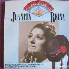 Discos de vinilo: LP - JUANITA REINA - ANTOLOGIA DE LA CANCION ESPAÑOLA Nº 10 (SPAIN, EMI 1986). Lote 289715953