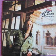 Discos de vinilo: LP - PACO DE LUCIA - ALMORAIMA (SPAIN, PHILIPS 1976, PORTADA DOBLE, VER FOTO ADJUNTA). Lote 289716768