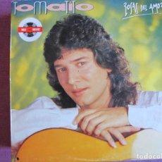 Discos de vinilo: LP - TOMATITO - ROSAS DEL AMOR (CANTA CAMARON EN UN TEMA)(SPAIN, HISPAVOX 1987, VER FOTO ADJUNTA). Lote 289717098