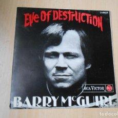 Discos de vinilo: BARRY MCGUIRE, EP, EVE OF DESTRUCTION + 3, AÑO 1965. Lote 289717373