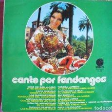 Discos de vinilo: LP - CANTE POR FANDANGOS - VARIOS (SPAIN, DISCOS IMPACTO 1974, VER FOTO ADJUNTA). Lote 289719988