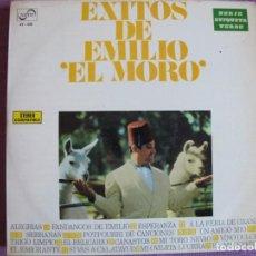 Discos de vinilo: LP - EMILIO EL MORO - EXITOS (SPAIN, ZAFIRO 1970, VER FOTO ADJUNTA). Lote 289720473