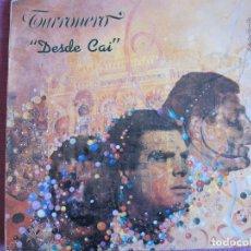 Discos de vinilo: LP - TURRONERO - DESDE CAI (SPAIN, DISCOS KIRIDIS 1991, VER FOTO ADJUNTA). Lote 289721433