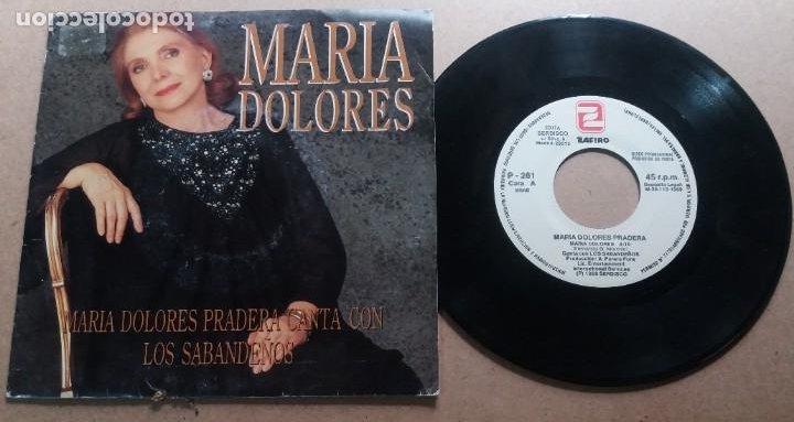 MARIA DOLORES PRADERA / MARIA DOLORES / SINGLE 7 PULGADAS (Música - Discos - Singles Vinilo - Solistas Españoles de los 70 a la actualidad)
