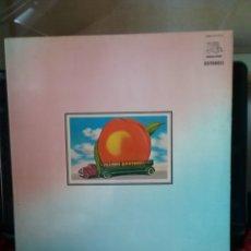 Discos de vinilo: THE ALLMAN BROTHERS 1971 DOBLE LP FILLMORE EAST N.Y. COPIA HISPAVOX SPAIN 1975. Lote 289721828