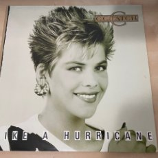 Discos de vinilo: C.C. CATCH - LIKE A HURRICANE LP - 1987 - SPAIN - EN BUEN ESTADO - ALBUM. Lote 289722288