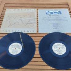 Discos de vinilo: JOYA DOBLE LP.VAINICA DOBLE.TAQUICARDIA -NM 16100 A NUEVOS MEDIOS 1ª EDIC. 1984.COMPLETO CON LETRAS. Lote 289723683