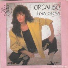 Discos de vinilo: 45 GIRI FIORDALISO IL MIO ANGELO /LA NAVE BIANCA DURIUM VOGUE FRANCE SANREMO ' 85. Lote 289723858