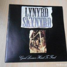 Discos de vinilo: LYNYRD SKYNYRD, SG, GOOD LOVIN´S HARD TO FIND + 1, AÑO 1993 PROMO. Lote 289724053
