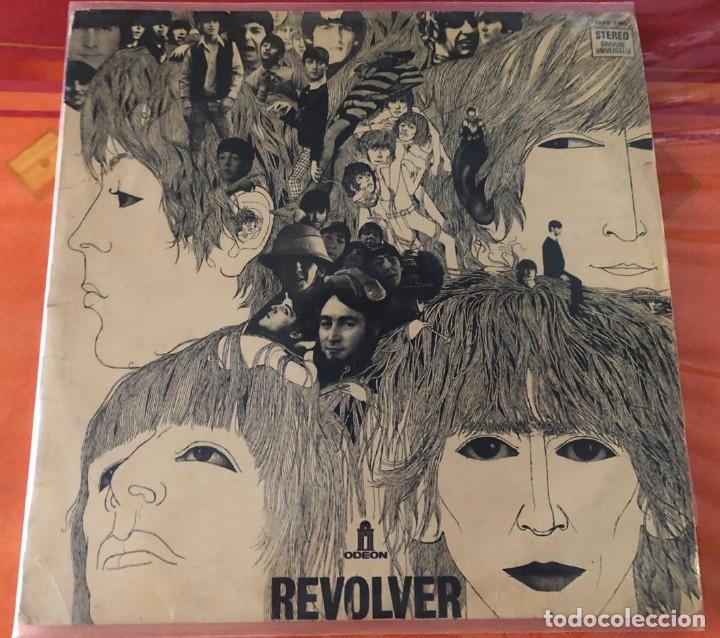 """BEATLES """"REVOLVER"""", LP EDICIÓN FRANCESA 1968 (Música - Discos - LP Vinilo - Pop - Rock Internacional de los 50 y 60)"""