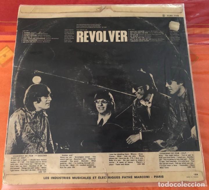 """Discos de vinilo: BEATLES """"REVOLVER"""", LP edición francesa 1968 - Foto 2 - 289724233"""