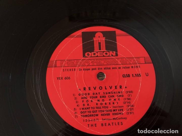 """Discos de vinilo: BEATLES """"REVOLVER"""", LP edición francesa 1968 - Foto 4 - 289724233"""