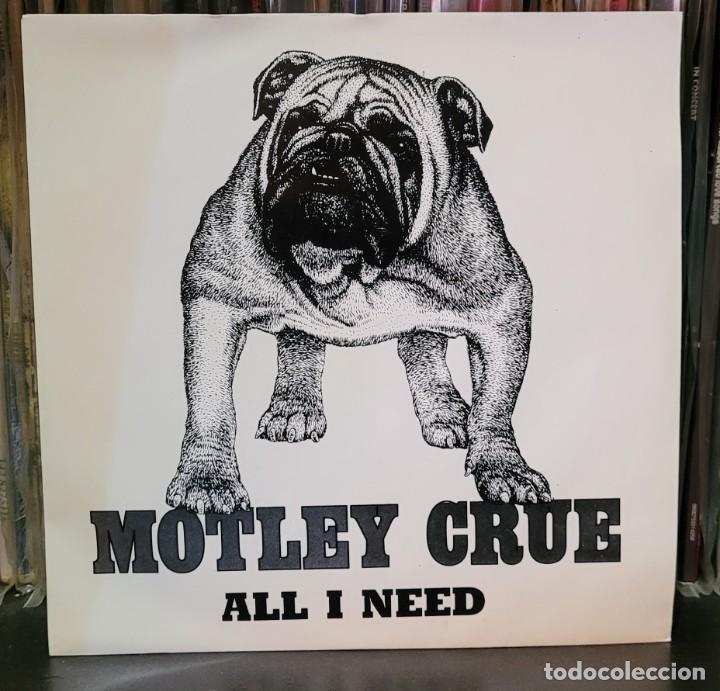 MOTLEY CRUE - ALL I NEED (PROMOCIONAL) EXCELENTE ESTADO VER FOTOS (Música - Discos - Singles Vinilo - Heavy - Metal)