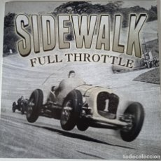 Discos de vinilo: SIDEWALK ... FULL THROTTLE. (MORNING WOOD RECORDS  01 OCT 2015) EUROPE. Lote 289731743