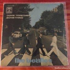"""Discos de vinilo: BEATLES """"COME TOGETHER/SOMETHING"""", SINGLE 7"""" EDICIÓN ESPAÑOLA 1970. Lote 289731978"""