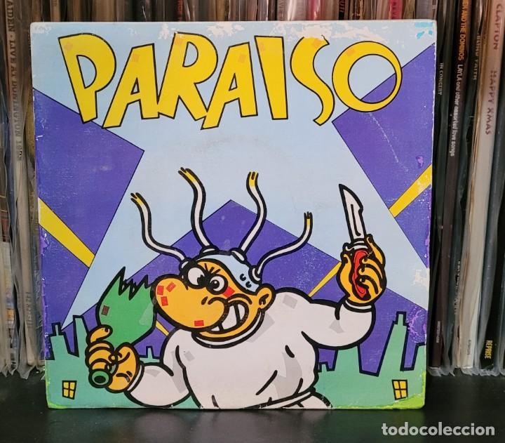 Discos de vinilo: PARAISO - MAKOKI - 1ª EDIC. NUEVOS TIEMPOS 1983 - EP 4 TEMAS (ENCARTE LETRAS) VER FOTOS - Foto 2 - 289732778