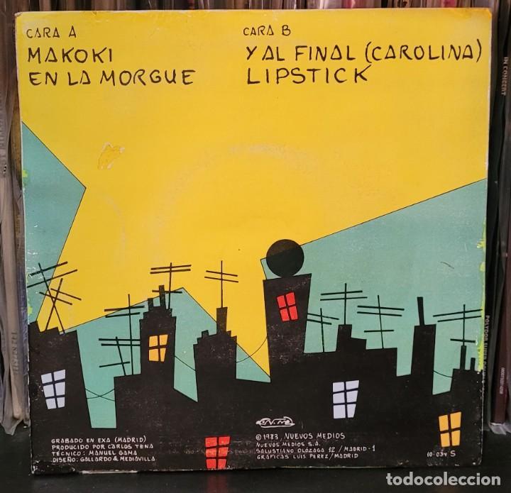 Discos de vinilo: PARAISO - MAKOKI - 1ª EDIC. NUEVOS TIEMPOS 1983 - EP 4 TEMAS (ENCARTE LETRAS) VER FOTOS - Foto 3 - 289732778
