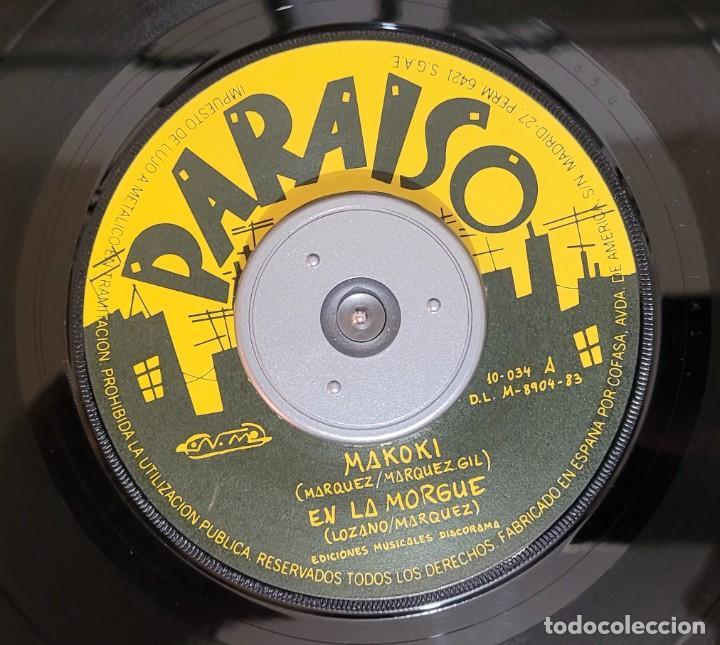 Discos de vinilo: PARAISO - MAKOKI - 1ª EDIC. NUEVOS TIEMPOS 1983 - EP 4 TEMAS (ENCARTE LETRAS) VER FOTOS - Foto 4 - 289732778