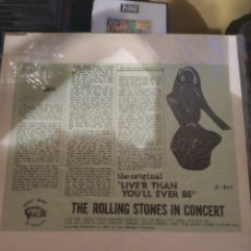 Discos de vinilo: THE ROLLING STONES IN CONCERT LIVE'R THAN YOU'LL EVER BE. LP.. Lote 289737938