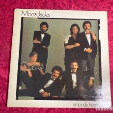 Discos de vinilo: DISCO MOCEDADES AMOR DE HOMBRE. Lote 289739908